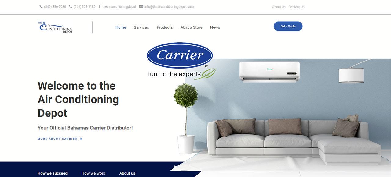 New AC Depot Website