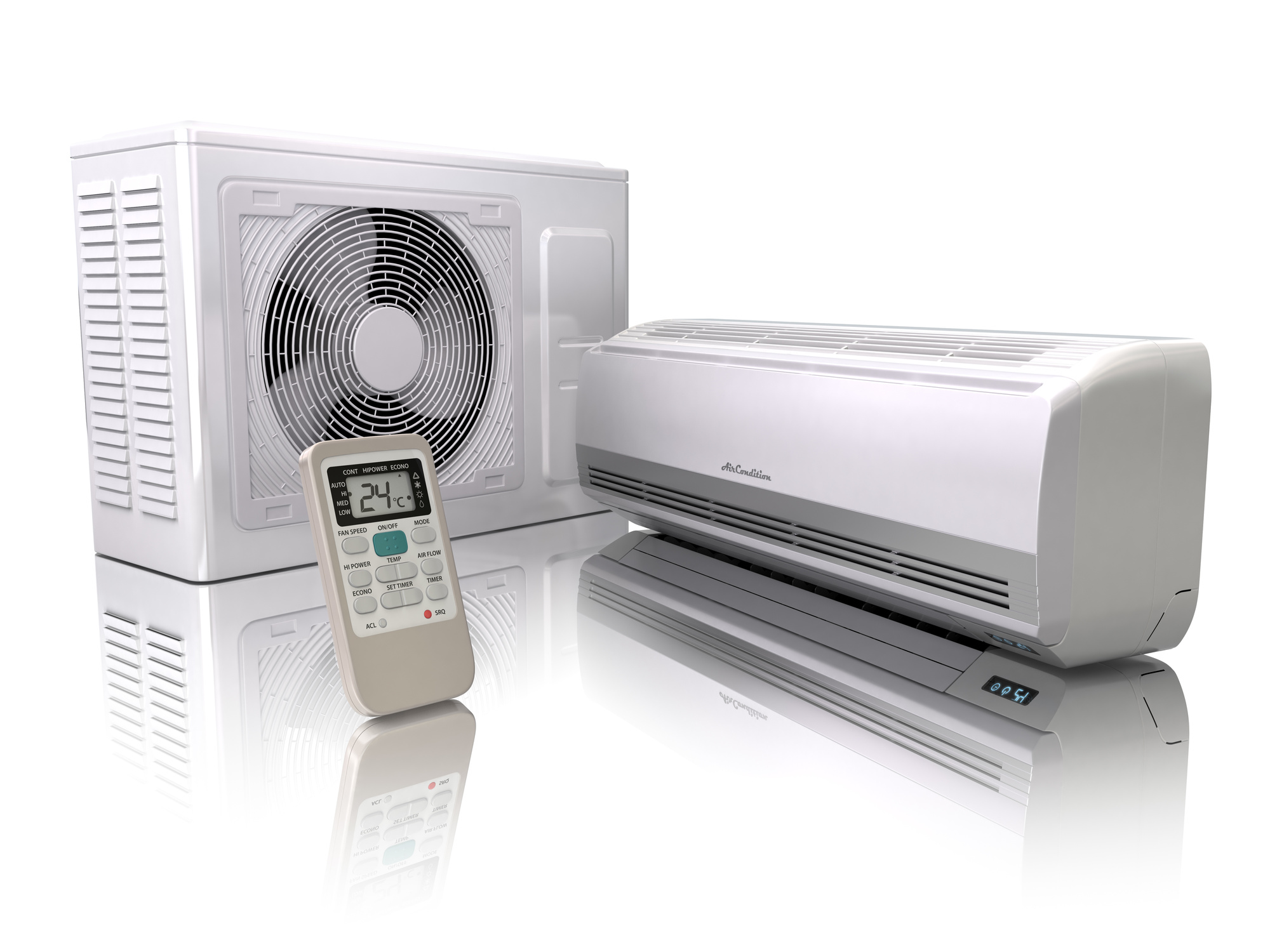 how does ductless heating and cooling work